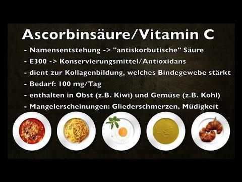 E300 Ascorbinsäure/Vitamin C - Lebensmittelzusatzstoff #2