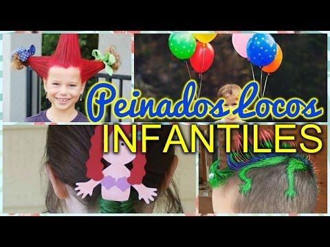 Peinados locos para niñas y niños 2016