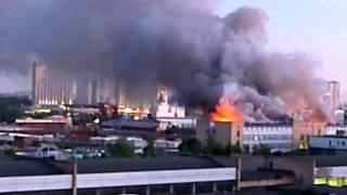 Пожар в общежитии на востоке Москвы Черкизон all(, 2011-06-07T10:41:45.000Z)