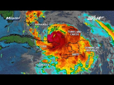 (VTC14)_Ít nhất 140 người chết do siêu bão mặt quỷ Matthew