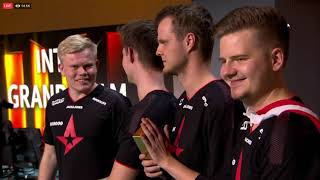 Astralis Wins The Intel Grand Slam @ ESL Pro League S8 Odense