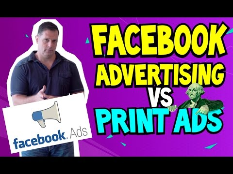 Facebook Advertising vs Print Ads? | Effective Tips on Paid Ads Using Facebook