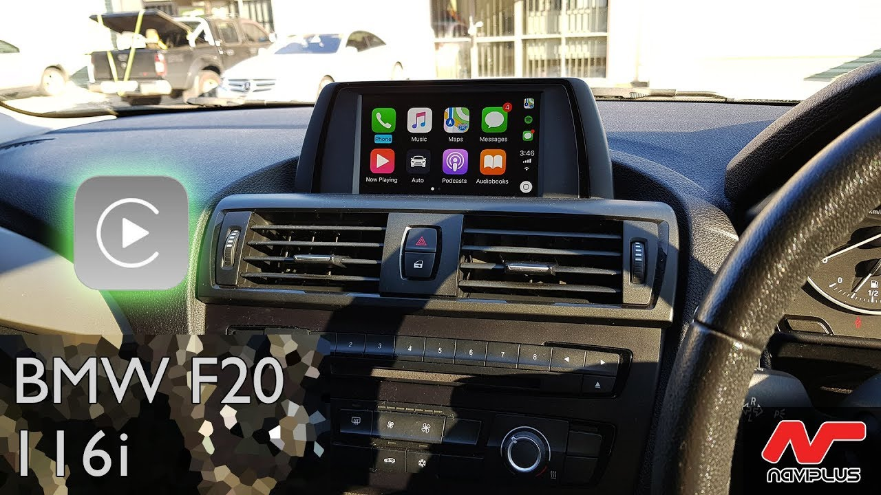BMW F20 116i - Apple CarPlay retrofit on CIC-HIGH iDrive