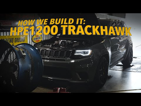 HPE1200 Trackhawk: Built And Tested By Hennessey Performance
