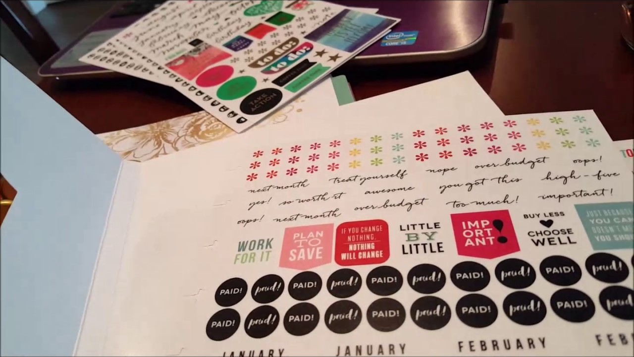 Happy Planner Budget Extension Pack