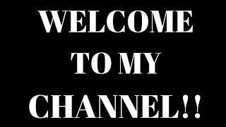 WELCOME TO MY CHANNEL 3 (2021)