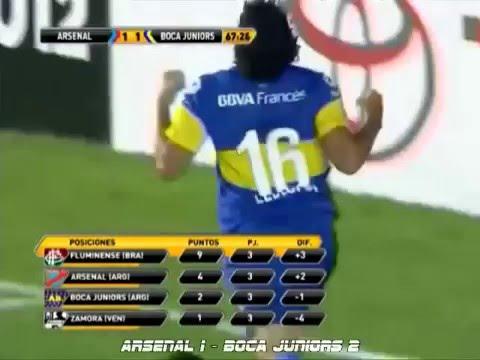 Todos Los Goles de la Copa Libertadores de America 2012 (Parte 1)