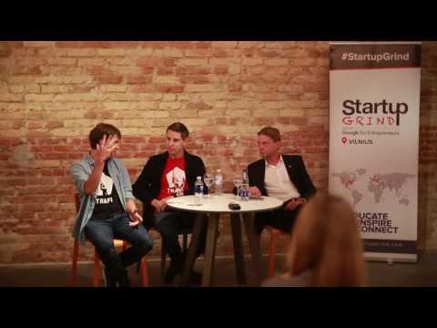 Startup Grind Vilnius hosts TRAFI