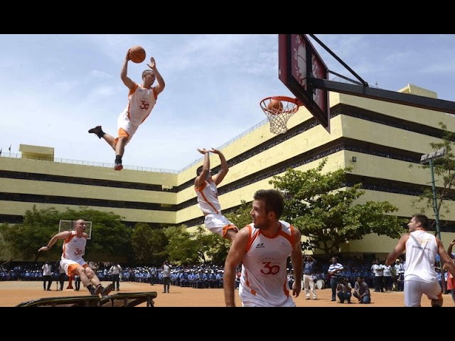 The Dunking Devils visit India