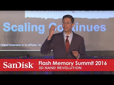 Flash Memory Summit 2016: 3D NAND revolution
