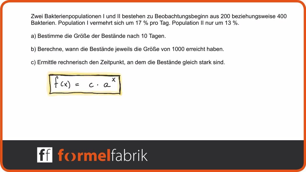 Atemberaubend Exponentielles Wachstum Und Zerfall Arbeitsblatt ...