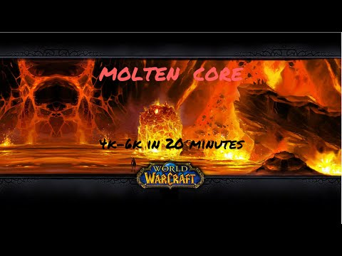 Wow Gold Guide - Molten Core 4k-6k in 20 minutes- Wod Farming 6.2.4
