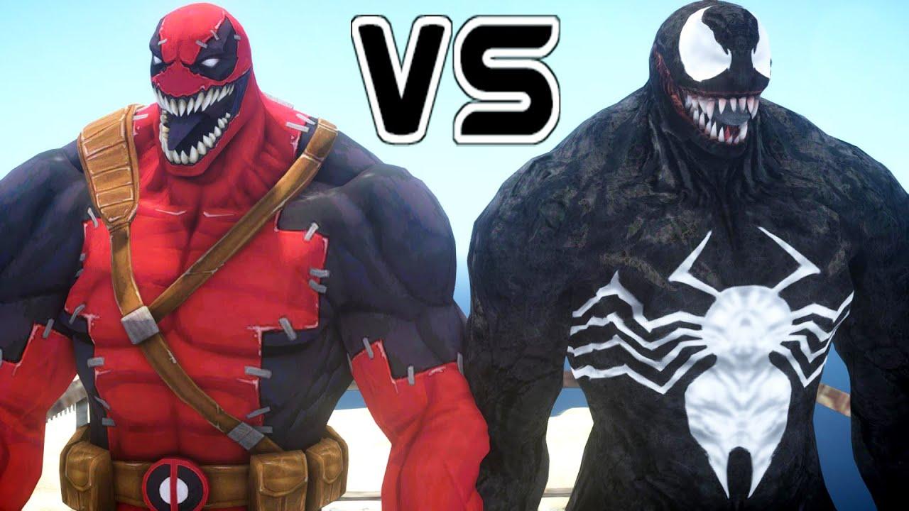 venom vs venompool epic battle youtube