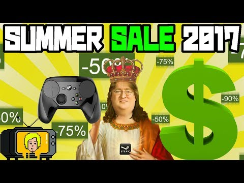 """STEAM SUMMER SALE 2017"" DAY 1 Stream"
