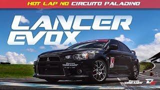 LANCER EVOLUTION X HOT LAP AVALIAO E HIST RIA NO CIRCUITO PALADINO 10