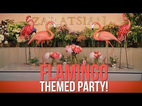 Flamingo Themed Party!