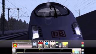 Train Simulator 2014 серьезная авария Есть пострадавшие поезда