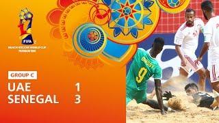 United Arab Emirates v Senegal Highlights FIFA Beach Soccer World Cup Paraguay 2019