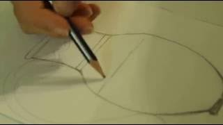 Учимся рисовать Как нарисовать кувшин(Это видео уроки рисования для детей, с помощью которых можно нарисовать рисунок даже без навыков рисования., 2015-10-12T08:47:34.000Z)