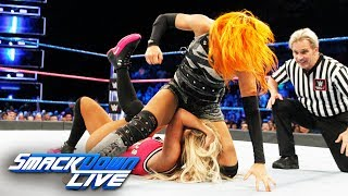 Becky Lynch vs. Carmella: SmackDown LIVE, Oct. 10, 2017