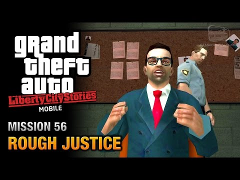 GTA Liberty City Stories Mobile - Mission #56 - Rough Justice
