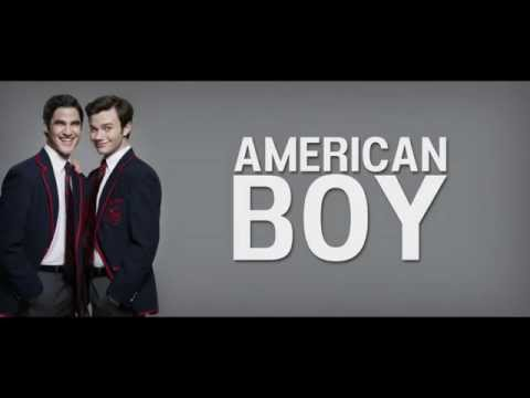 GLEE - American Boy | LYRICS