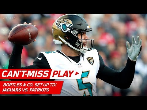 Bortles, Fournette & Grant Lead Jags on TD Drive! | Can't-Miss Play | AFC Championship HLs