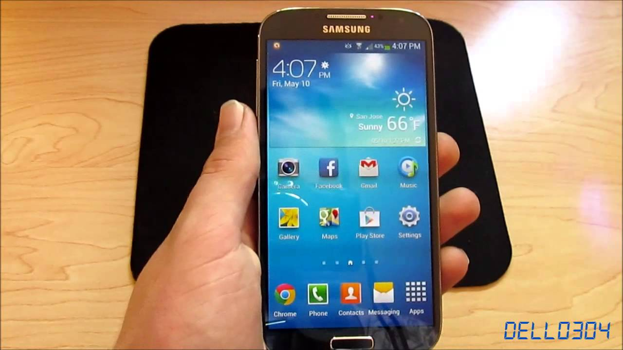 Review: Samsung Galaxy S4 (16GB, Black Mist) - YouTube
