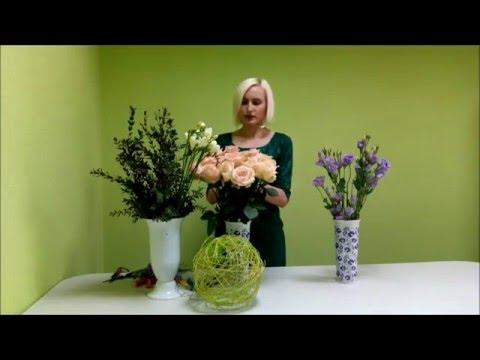 Как сделать свадебный букет невесты из живых цветов, делаем букет цветов на свадьбу своими руками.