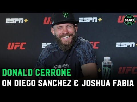 """Donald Cerrone shares Joshua Fabia bar fight story: """"The death punch did not work"""""""