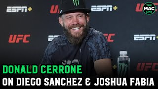 "Donald Cerrone shares Joshua Fabia bar fight story: ""The death punch did not work"""