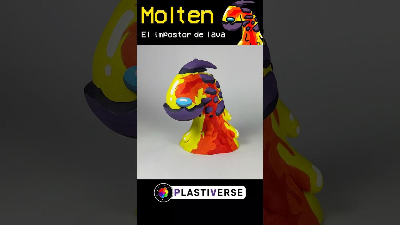 MOLTEN El impostor de LAVA #shorts | PlastiVerse