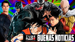 Batman V Superman Remake, Live-Action Dragon Ball Z y One Punch Man, teaser Venom 2 | Tube Radio