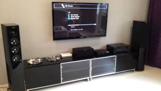 home theather system jamo s608 onkyo samsung