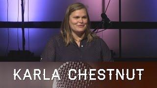 Permission to Speak: With a God Who Knows - Karla Chestnut
