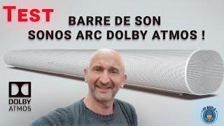 TEST : Barre De Son SONOS ARC Dolby Atmos ! (avec Audio 3D et Bonus !)