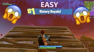 StairCase to Heaven Win Fortnite Battle Royale