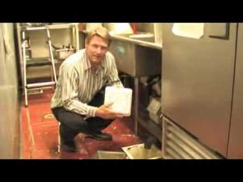 Restaurant Floor Sink Strainer Youtube