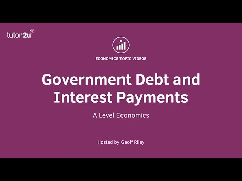 Government Debt and Interest Payments