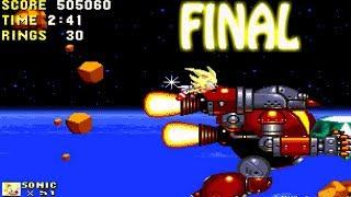 Sonic & Knuckles / NIVEL FINAL / Destruimos los planes del gordito / Sega Genesis