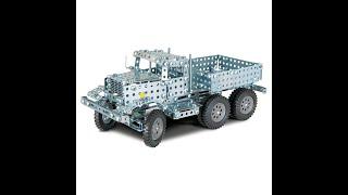 Как сделать машину из металлического конструктора к уроку технологии!