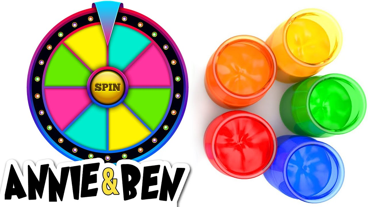 Learn Colors With The Magic Color Wheel Educational Videos For