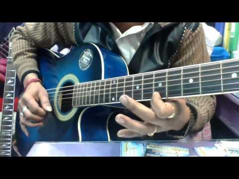 Guitar gulabi aankhen guitar tabs : Gulabi aankhein guitar tabs - YouTube