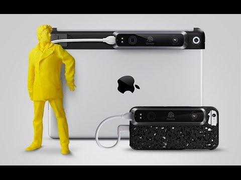 3d Systems Now Offers Isense 3d Scanner For Iphone 6 Youtube