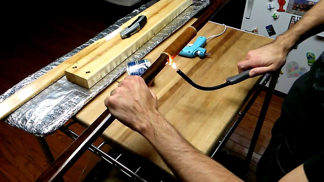 How To Wrap A Bow Handle My Technique For Leather Youtube