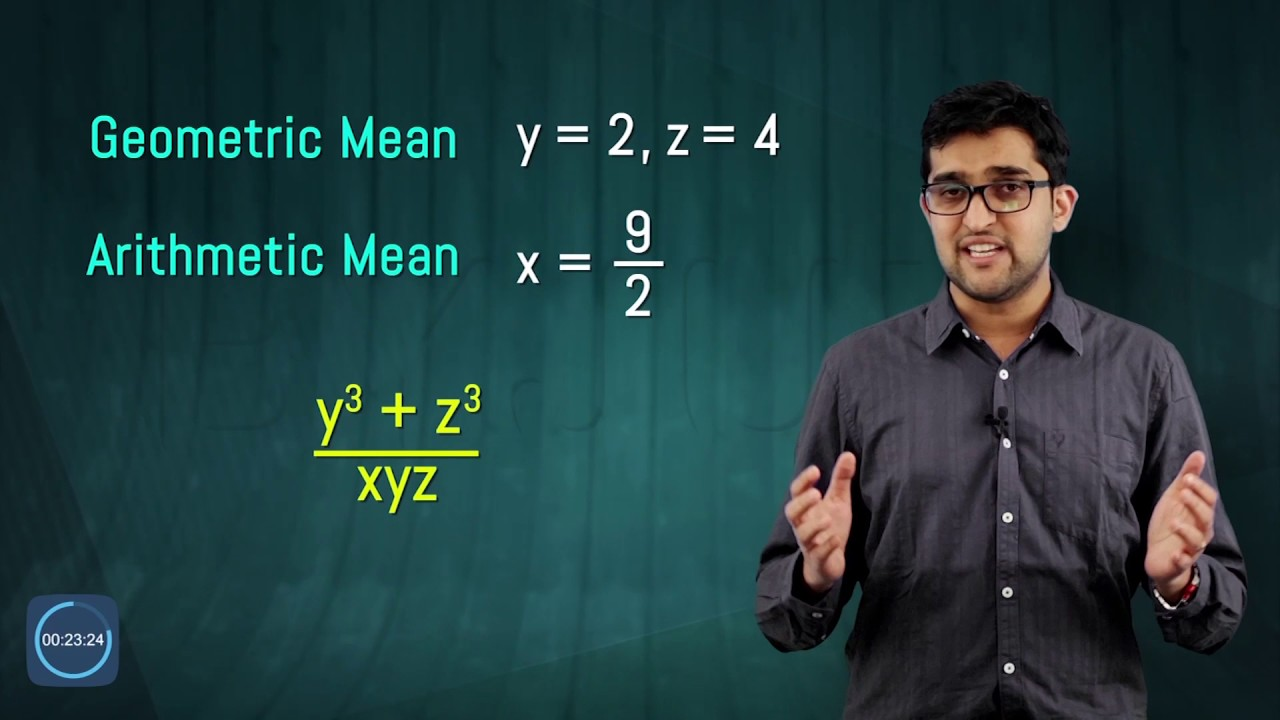 IIT JEE ALGEBRA PROBLEM updated - YouTube