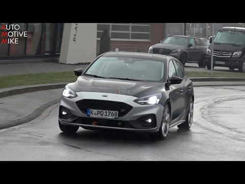 FORD FOCUS ST SPIED TESTING AT THE NÜRBURGRING
