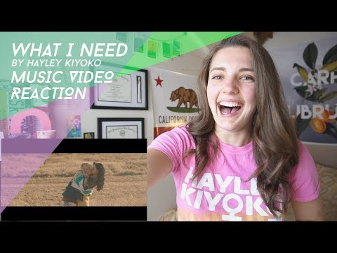 What I Need ft. Kehlani by Hayley Kiyoko REACTION