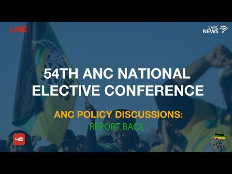 ANC policy discussion report back: 20 December 2017