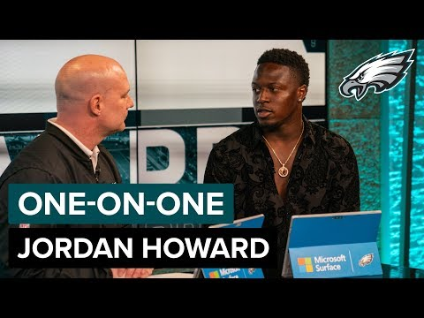 Jordan Howard 'I've Been Getting A Lot of Love'   Eagles One-On-One